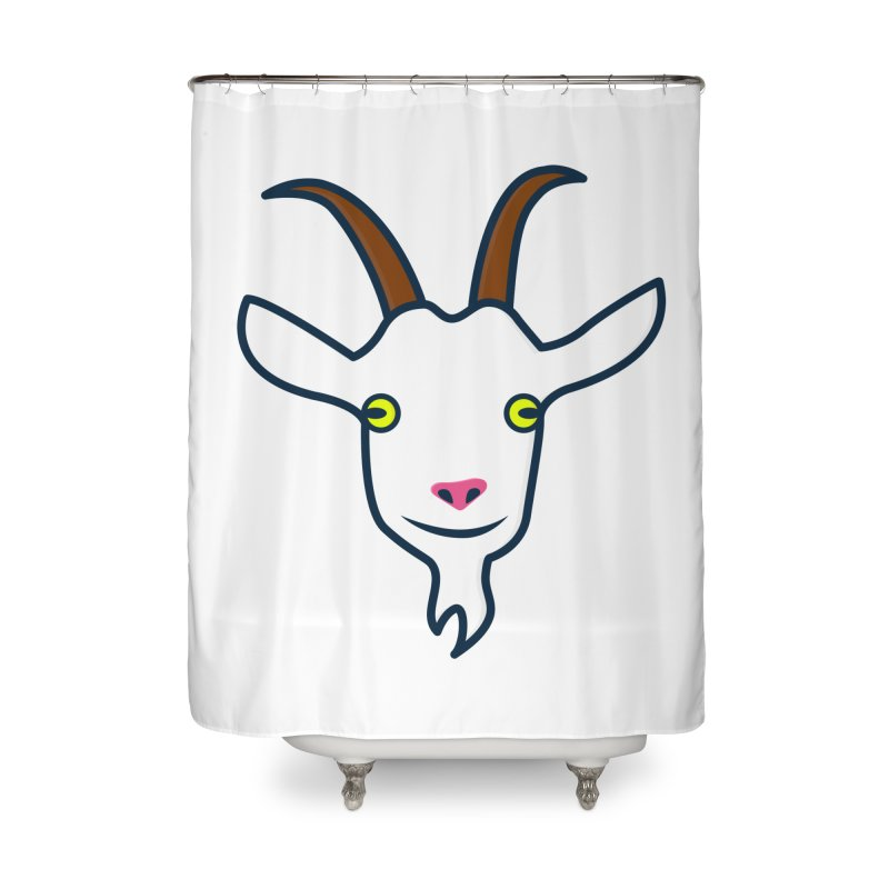 Goat Home Shower Curtain by