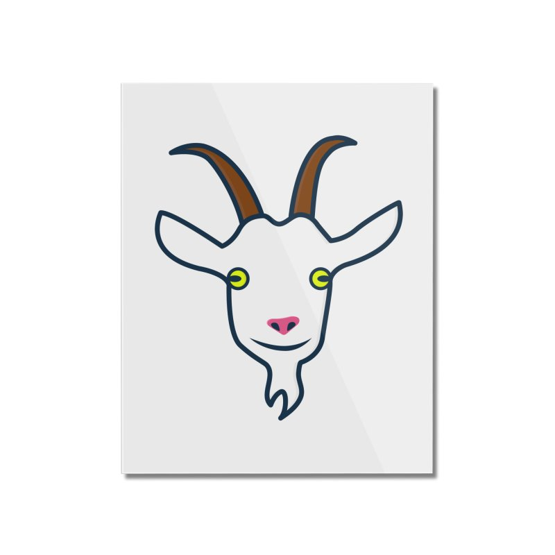 Goat Home Mounted Acrylic Print by