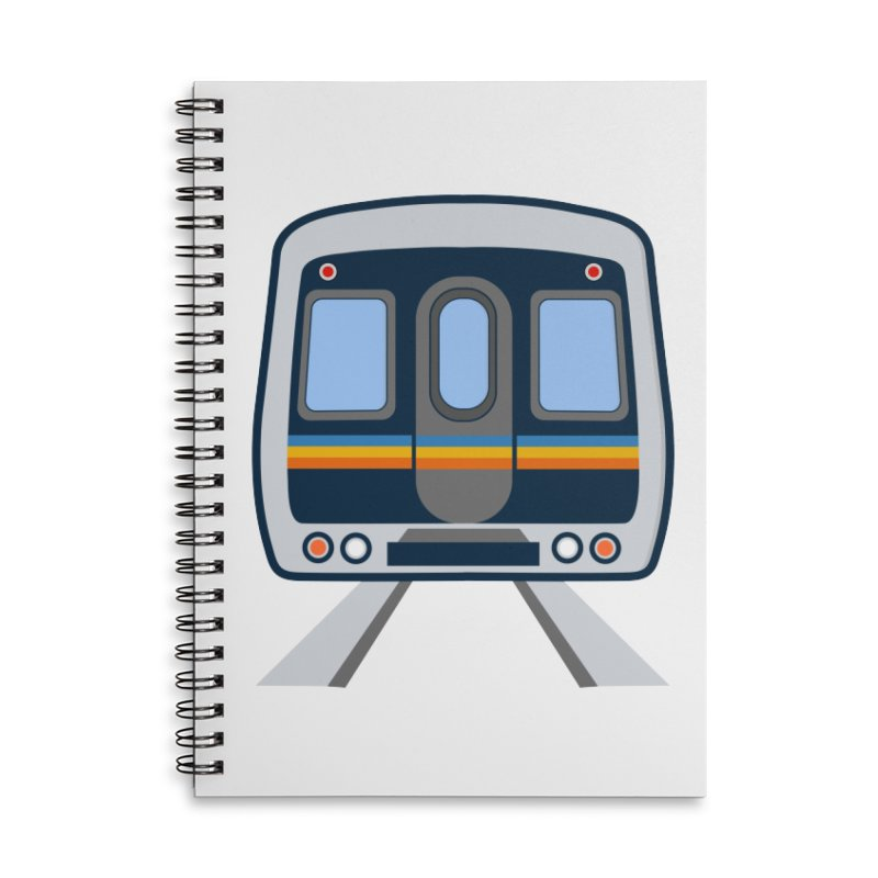Marta Accessories Lined Spiral Notebook by