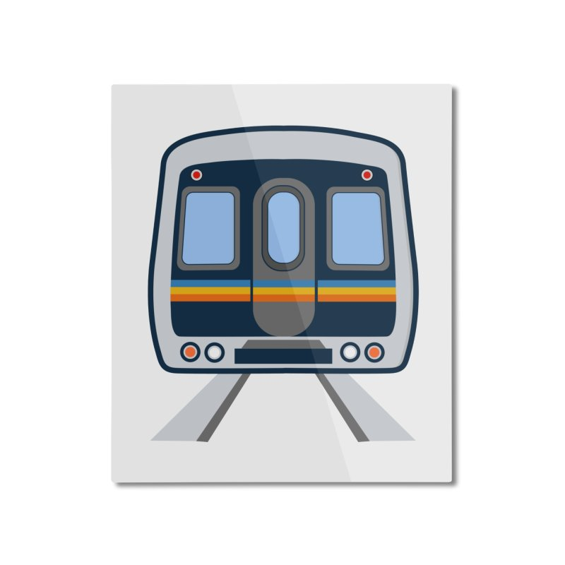Marta Home Mounted Aluminum Print by