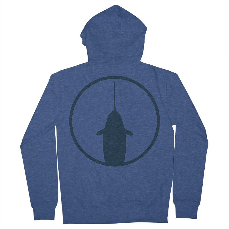 Narwhal Women's French Terry Zip-Up Hoody by