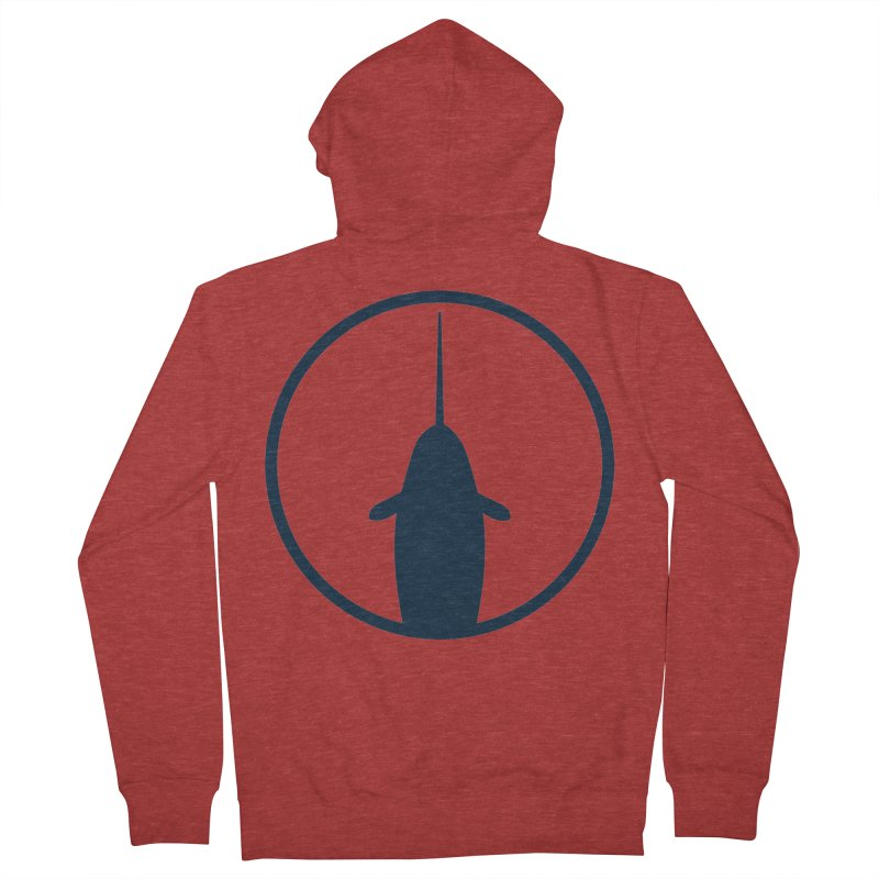 Narwhal Men's French Terry Zip-Up Hoody by