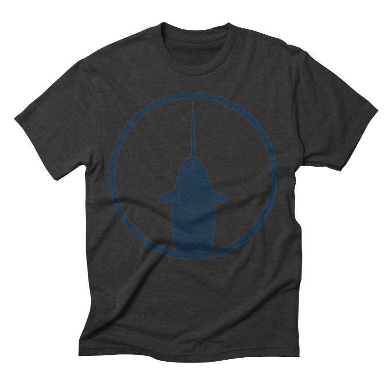 Narwhal Men's Triblend T-Shirt by