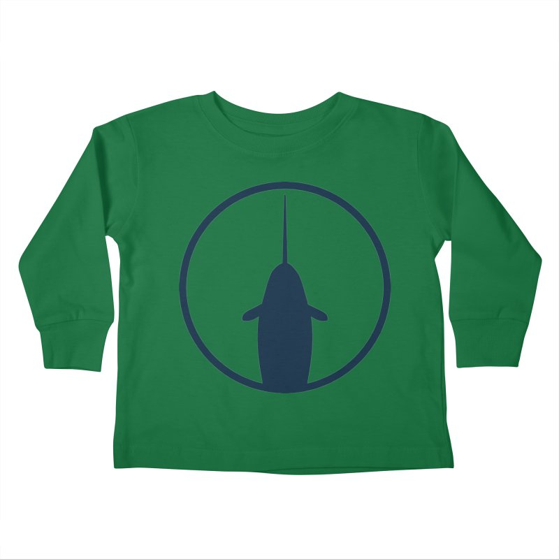 Narwhal Kids Toddler Longsleeve T-Shirt by