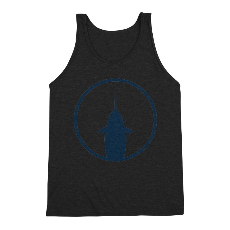 Narwhal Men's Triblend Tank by