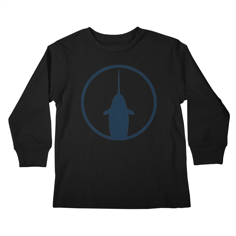 Narwhal Kids Longsleeve T-Shirt by