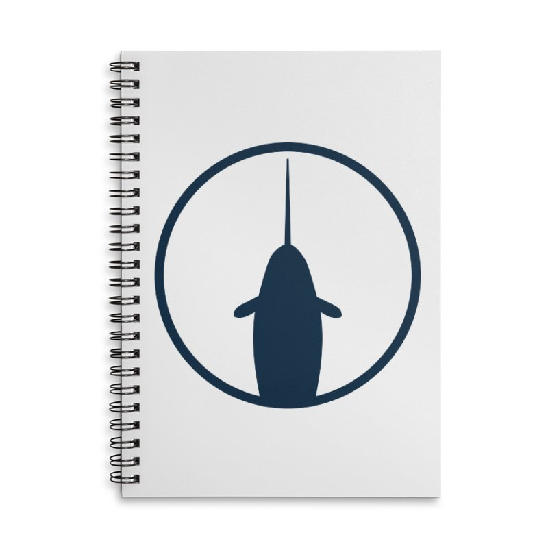 Narwhal Accessories Lined Spiral Notebook by