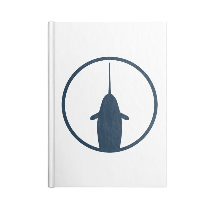Narwhal Accessories Blank Journal Notebook by