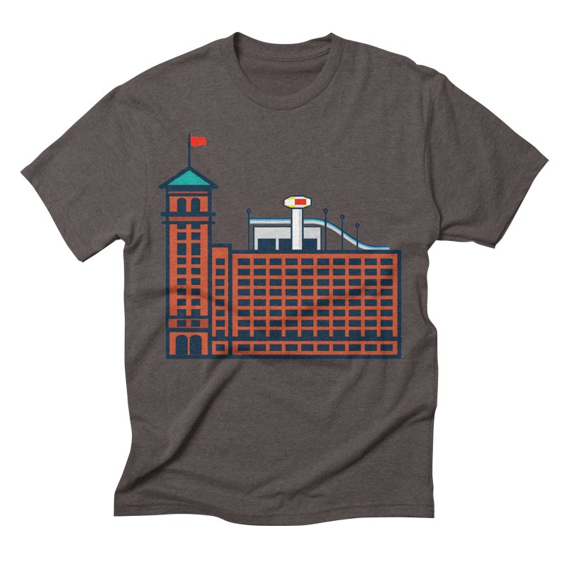 Ponce City Market Men's Triblend T-Shirt by