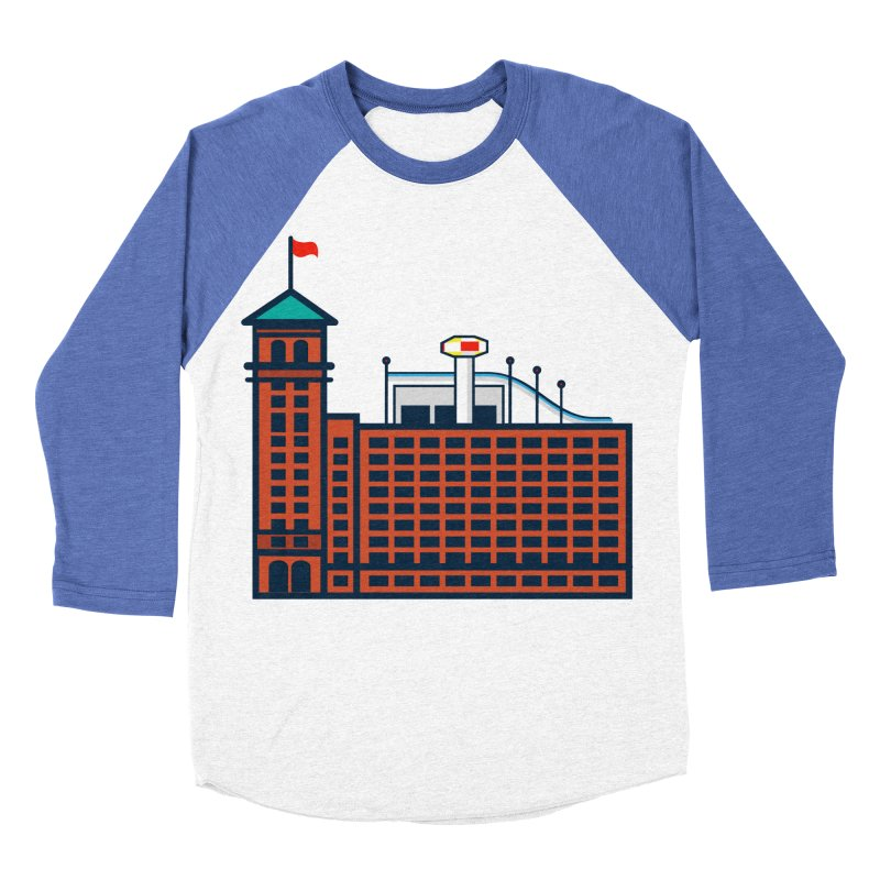 Ponce City Market Women's Baseball Triblend Longsleeve T-Shirt by