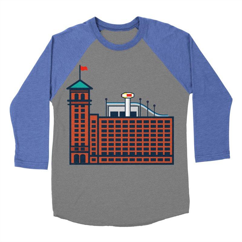Ponce City Market Men's Baseball Triblend Longsleeve T-Shirt by