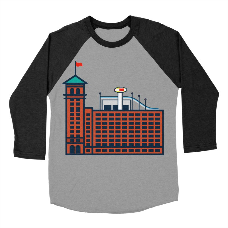 Ponce City Market Men's Baseball Triblend Longsleeve T-Shirt by