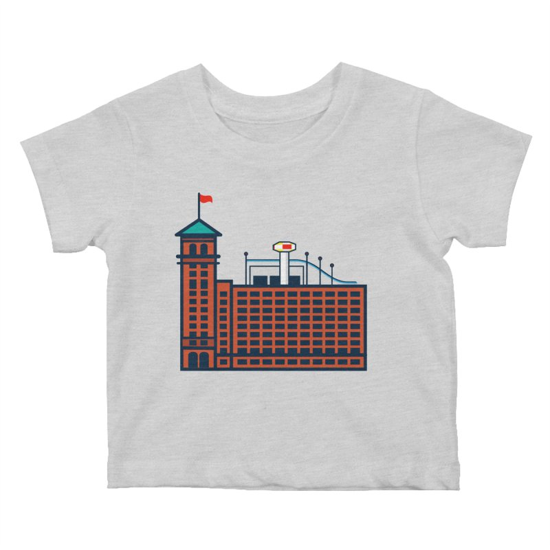 Ponce City Market Kids Baby T-Shirt by