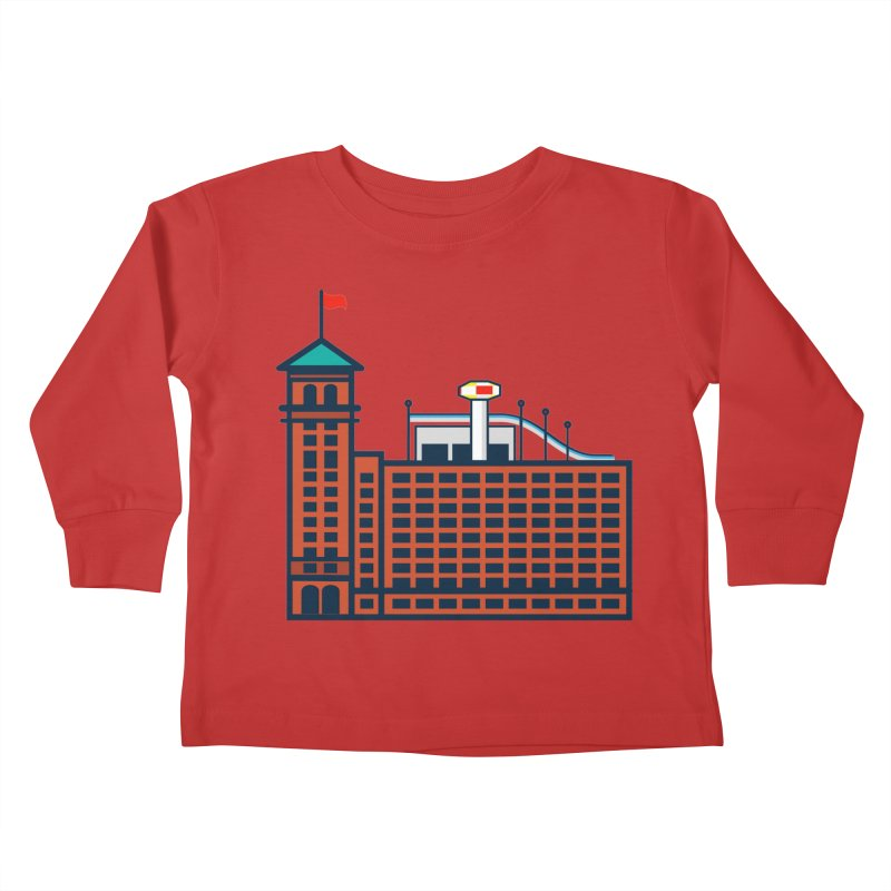 Ponce City Market Kids Toddler Longsleeve T-Shirt by