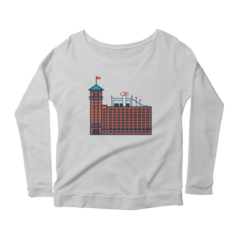 Ponce City Market Women's Scoop Neck Longsleeve T-Shirt by
