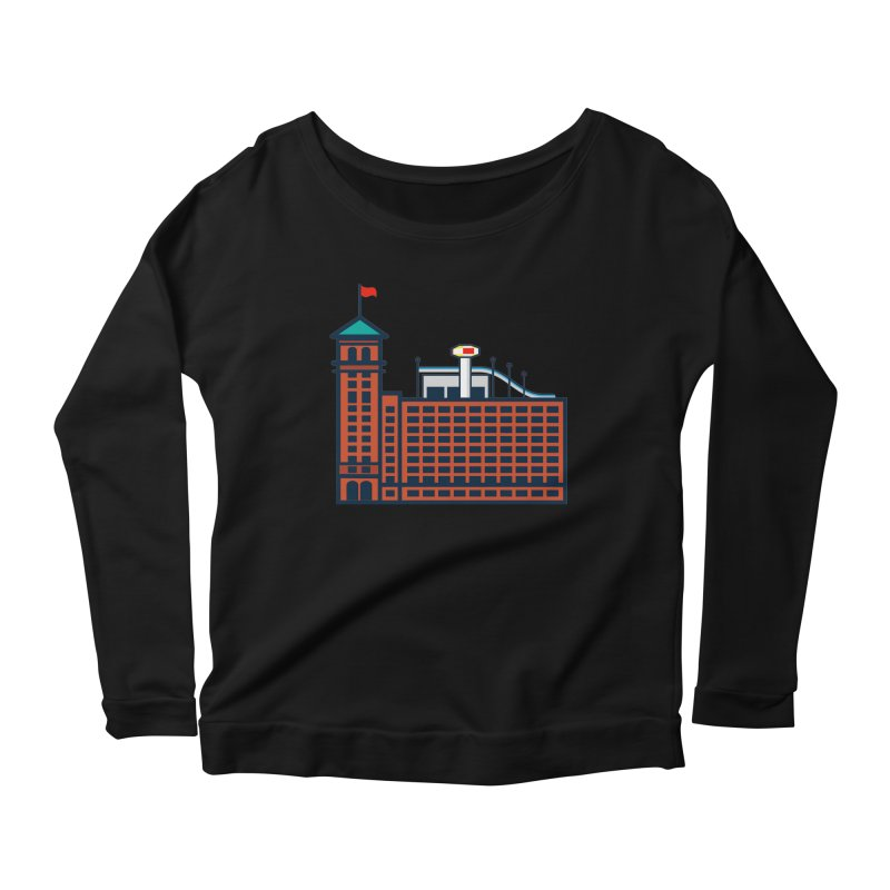 Ponce City Market Women's Scoop Neck Longsleeve T-Shirt by