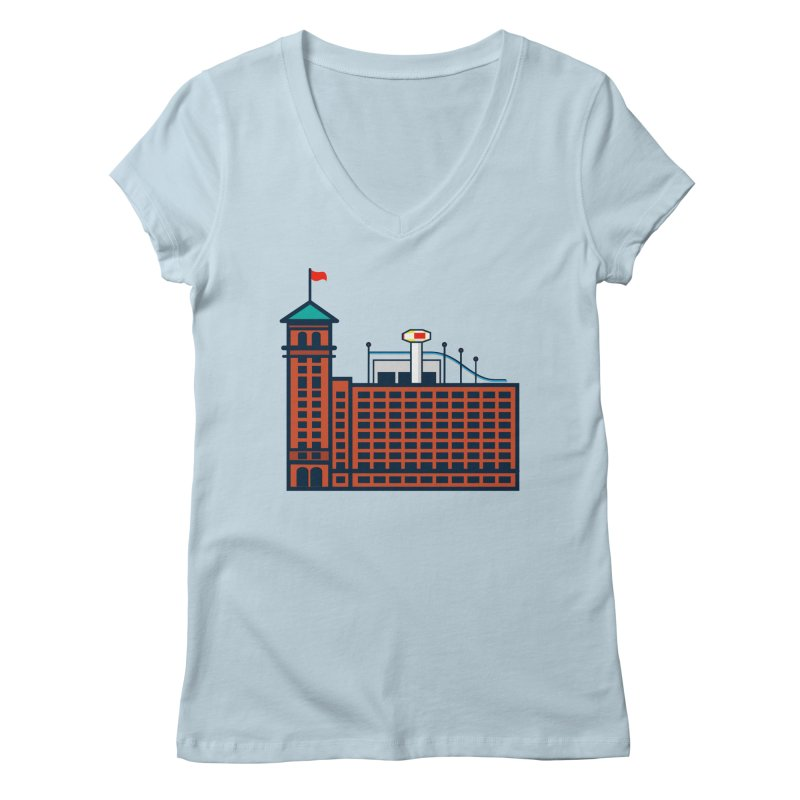 Ponce City Market Women's Regular V-Neck by