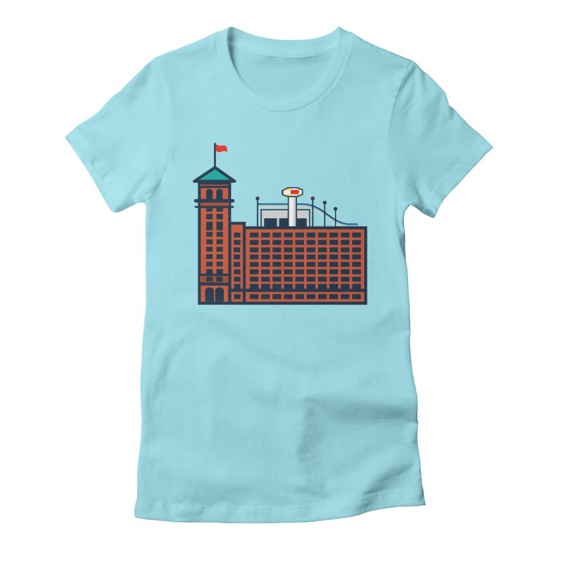 Ponce City Market Women's Fitted T-Shirt by