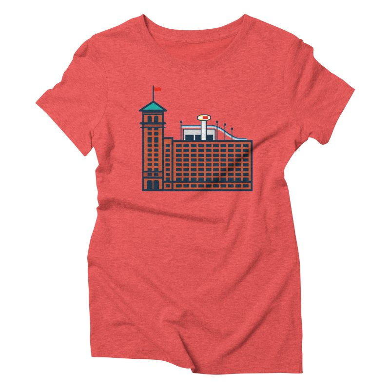 Ponce City Market Women's Triblend T-Shirt by