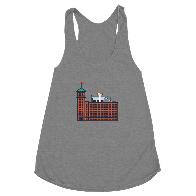 Ponce City Market Women's Racerback Triblend Tank by