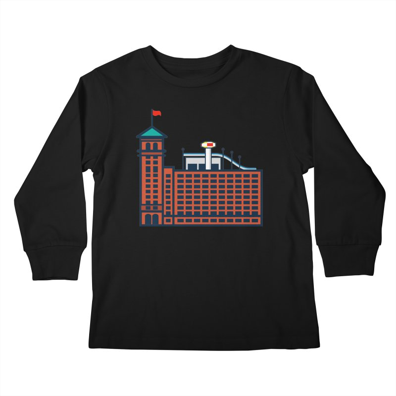 Ponce City Market Kids Longsleeve T-Shirt by