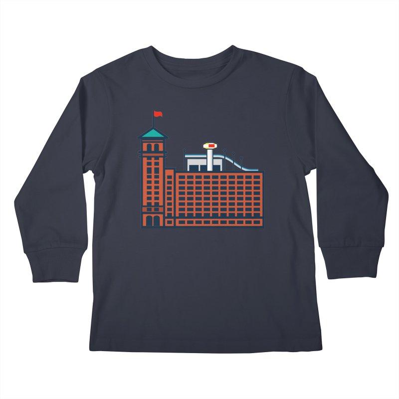 Ponce City Market Kids Longsleeve T-Shirt by