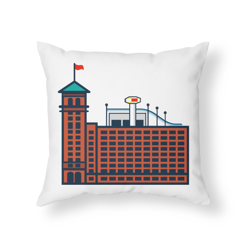 Ponce City Market Home Throw Pillow by