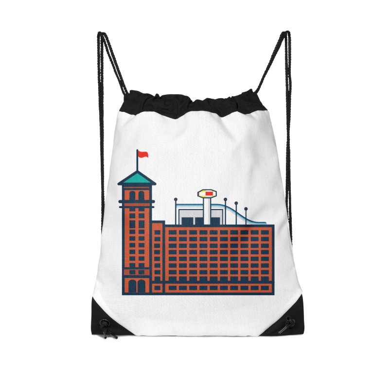 Ponce City Market Accessories Drawstring Bag Bag by