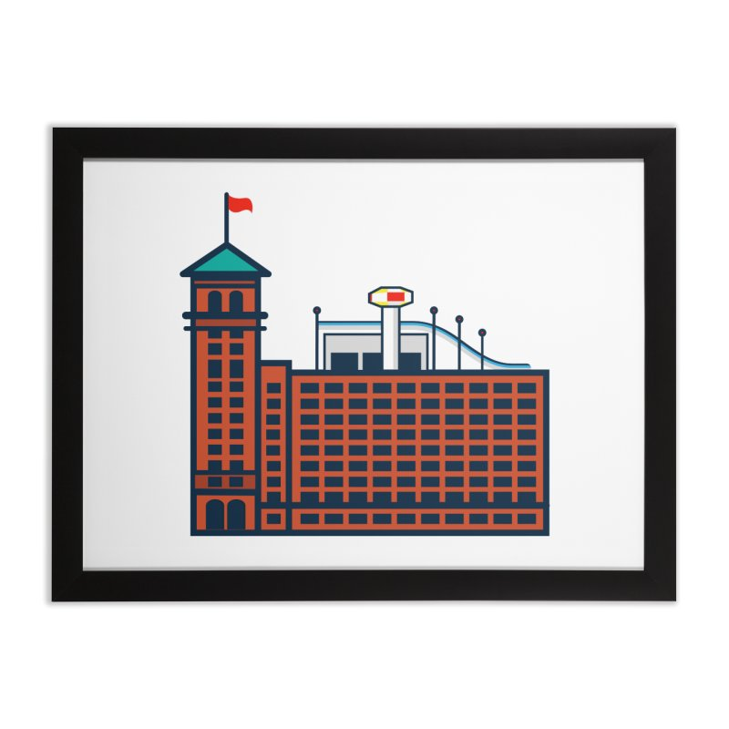 Ponce City Market Home Framed Fine Art Print by