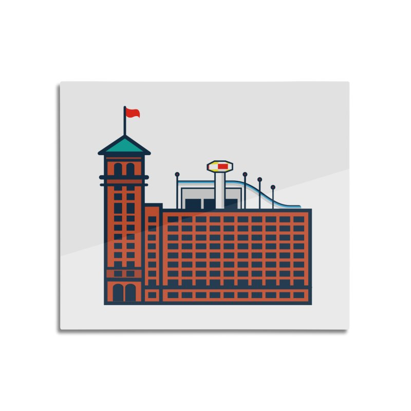 Ponce City Market Home Mounted Aluminum Print by