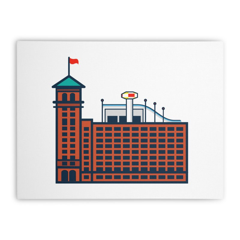 Ponce City Market Home Stretched Canvas by