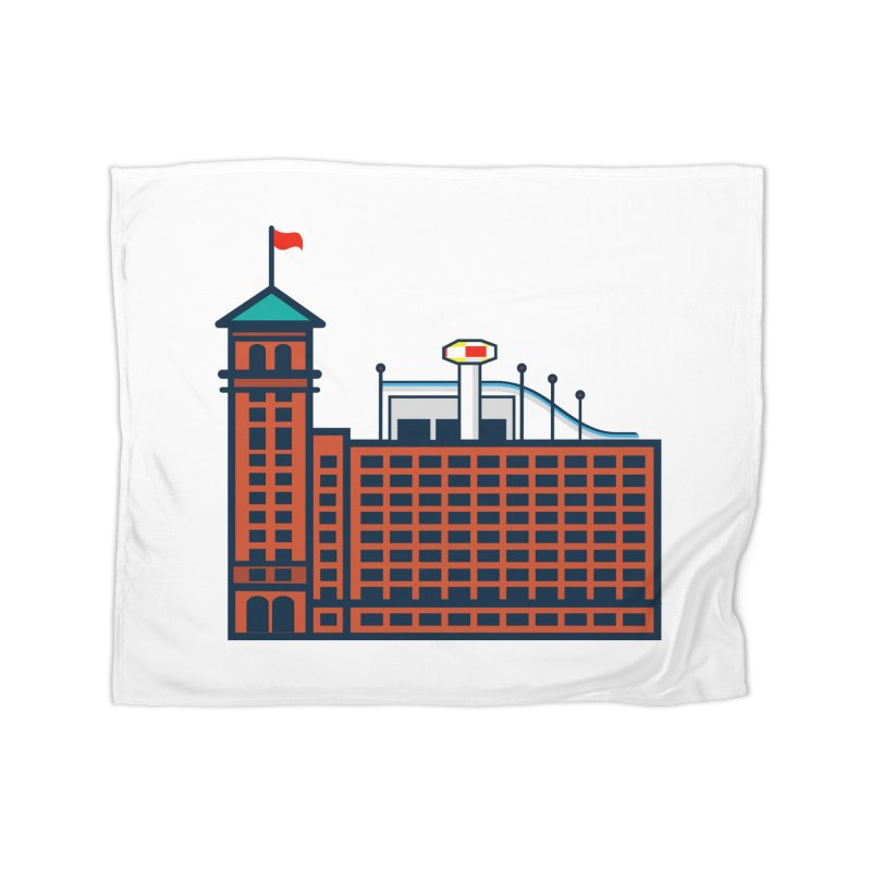 Ponce City Market Home Fleece Blanket Blanket by