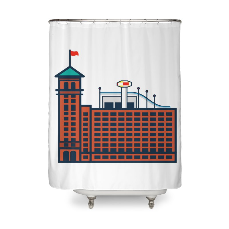 Ponce City Market Home Shower Curtain by