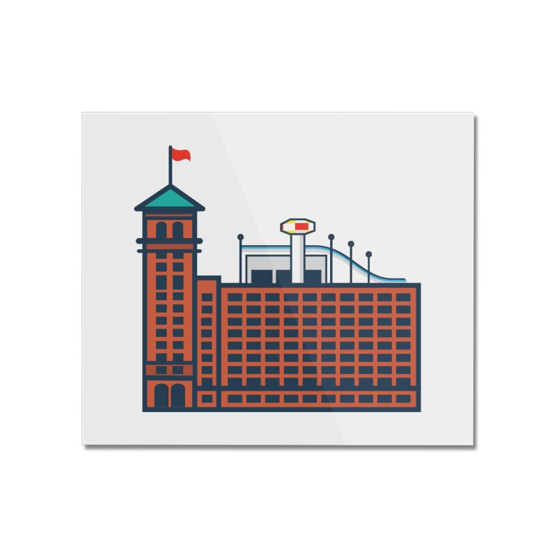 Ponce City Market Home Mounted Acrylic Print by