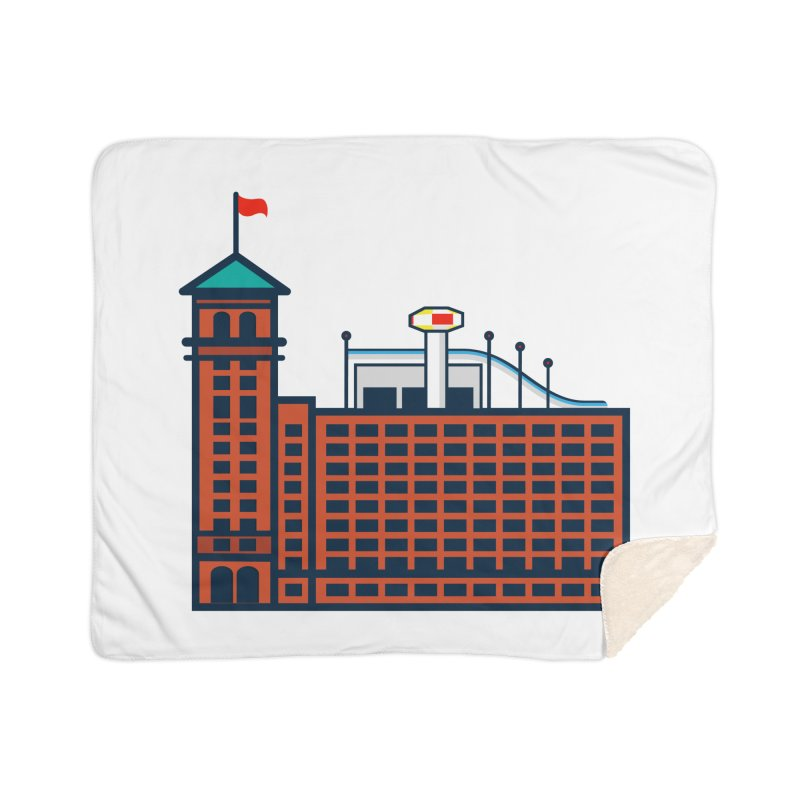 Ponce City Market Home Sherpa Blanket Blanket by