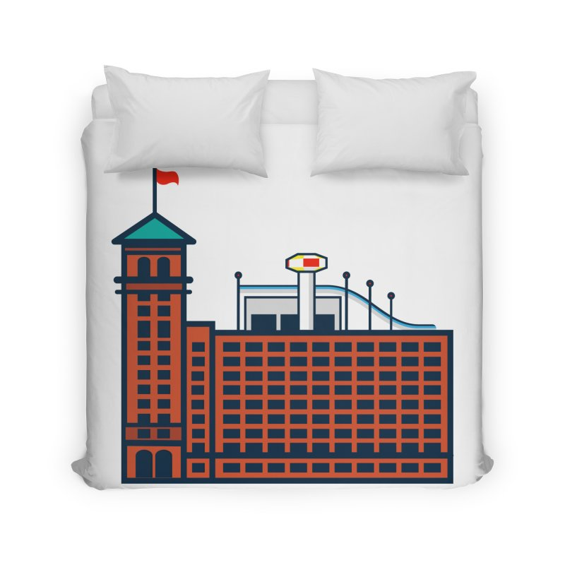 Ponce City Market Home Duvet by