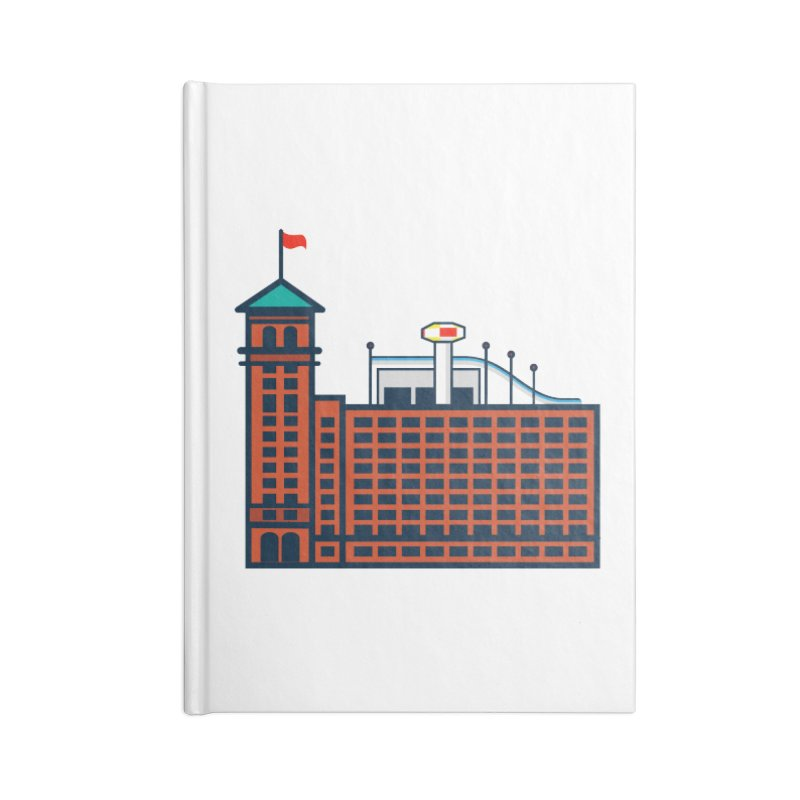 Ponce City Market Accessories Lined Journal Notebook by