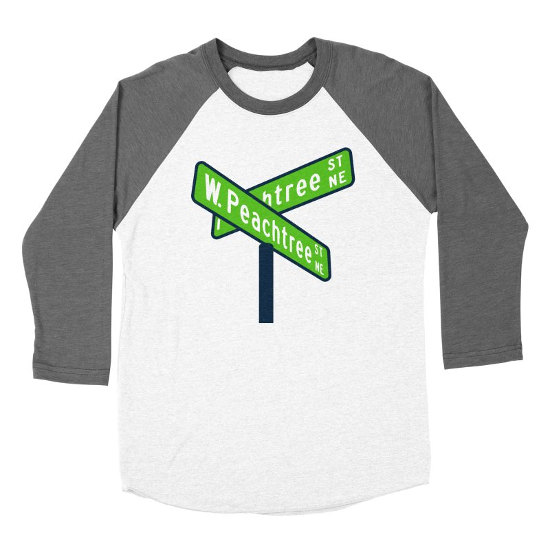 Peachtree Streets Men's Baseball Triblend Longsleeve T-Shirt by