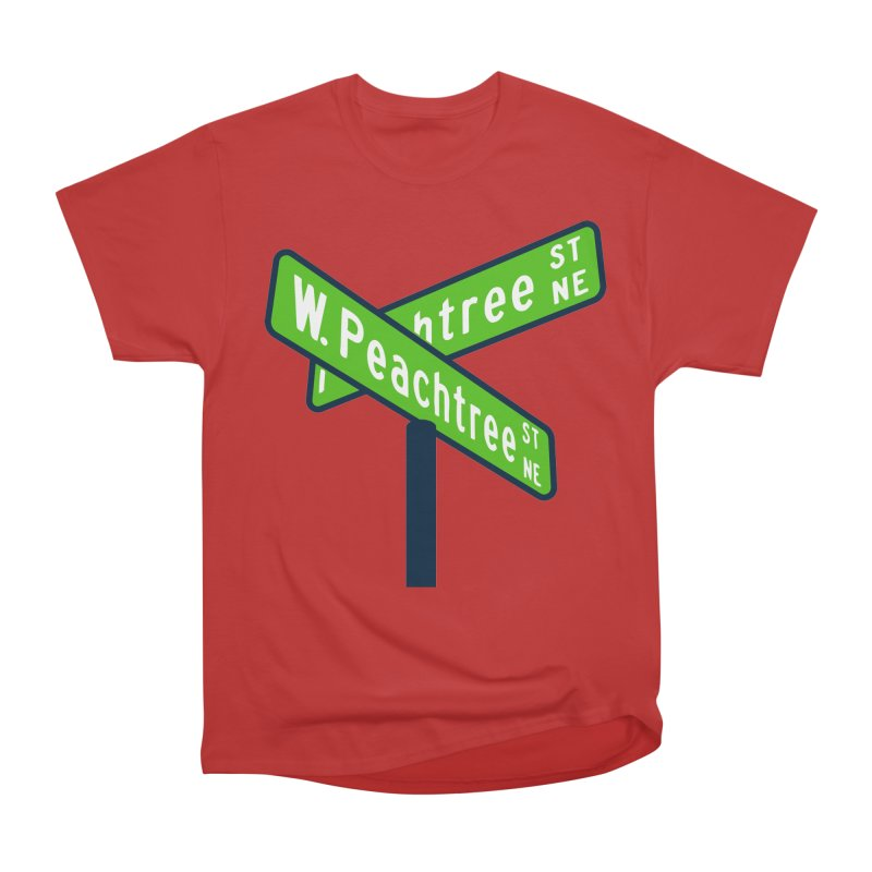 Peachtree Streets Women's Heavyweight Unisex T-Shirt by