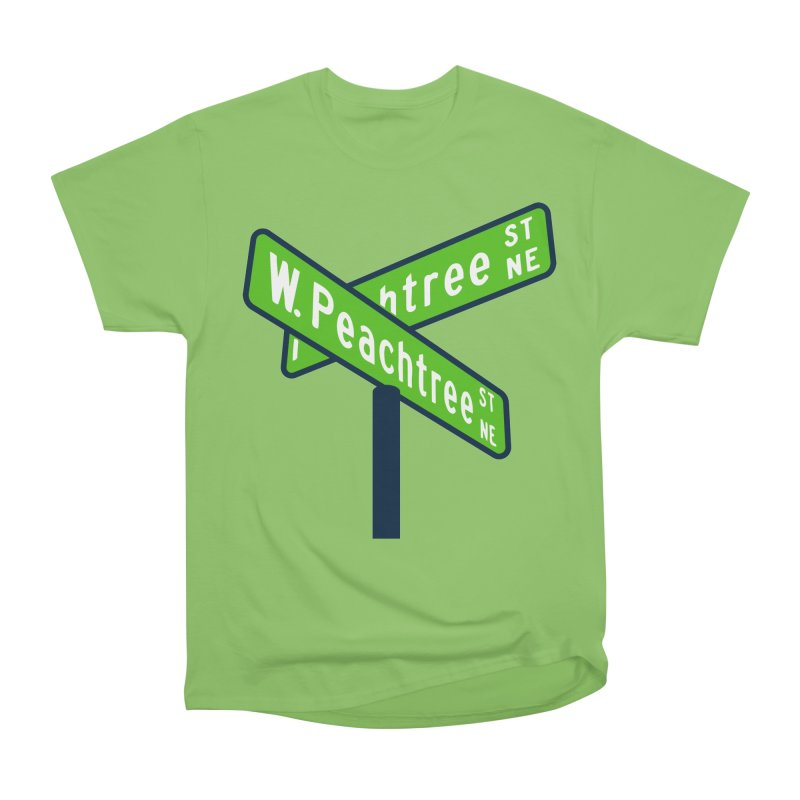 Peachtree Streets Men's Heavyweight T-Shirt by
