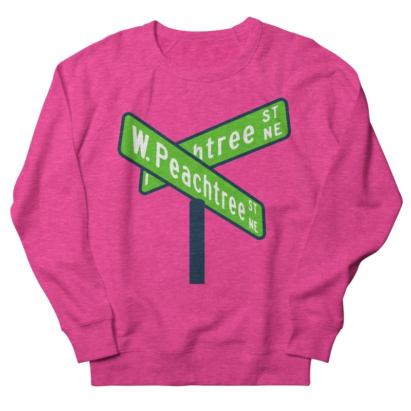 Peachtree Streets Women's French Terry Sweatshirt by