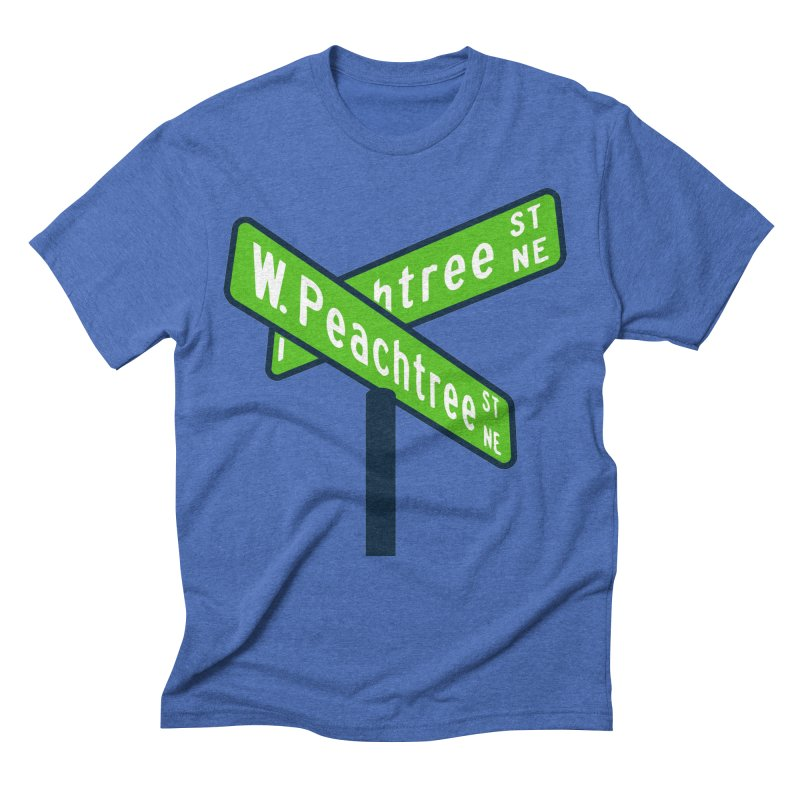 Peachtree Streets Men's Triblend T-Shirt by