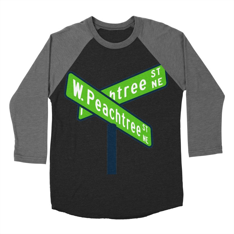 Peachtree Streets Women's Baseball Triblend Longsleeve T-Shirt by