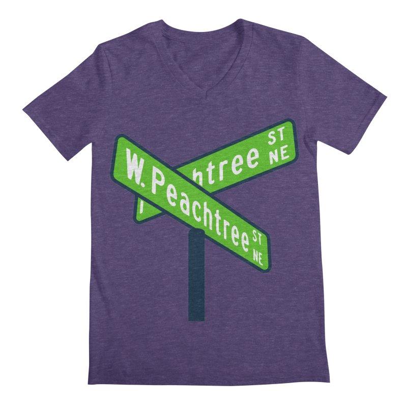 Peachtree Streets Men's Regular V-Neck by