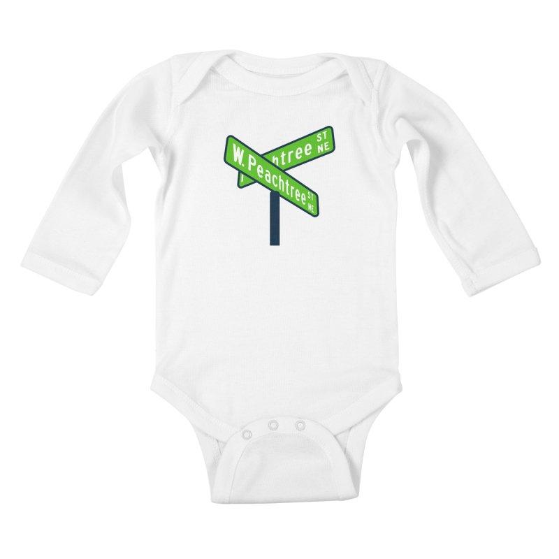 Peachtree Streets Kids Baby Longsleeve Bodysuit by