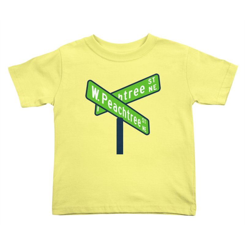 Peachtree Streets Kids Toddler T-Shirt by