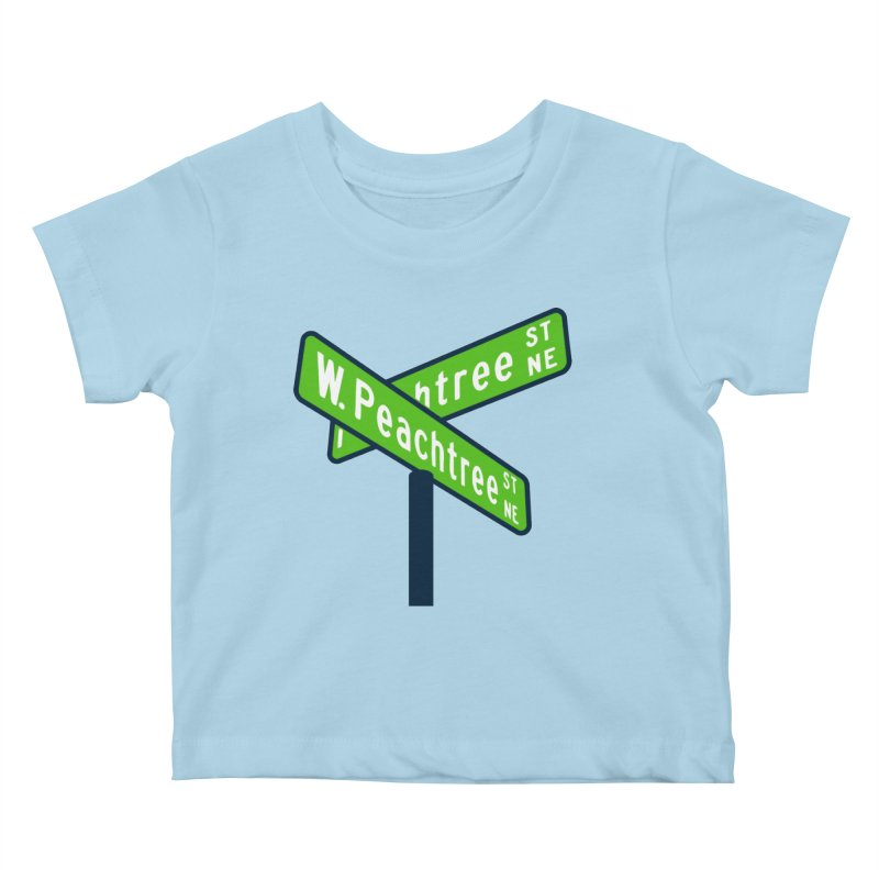 Peachtree Streets Kids Baby T-Shirt by