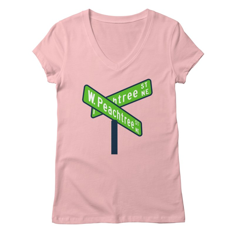 Peachtree Streets Women's V-Neck by
