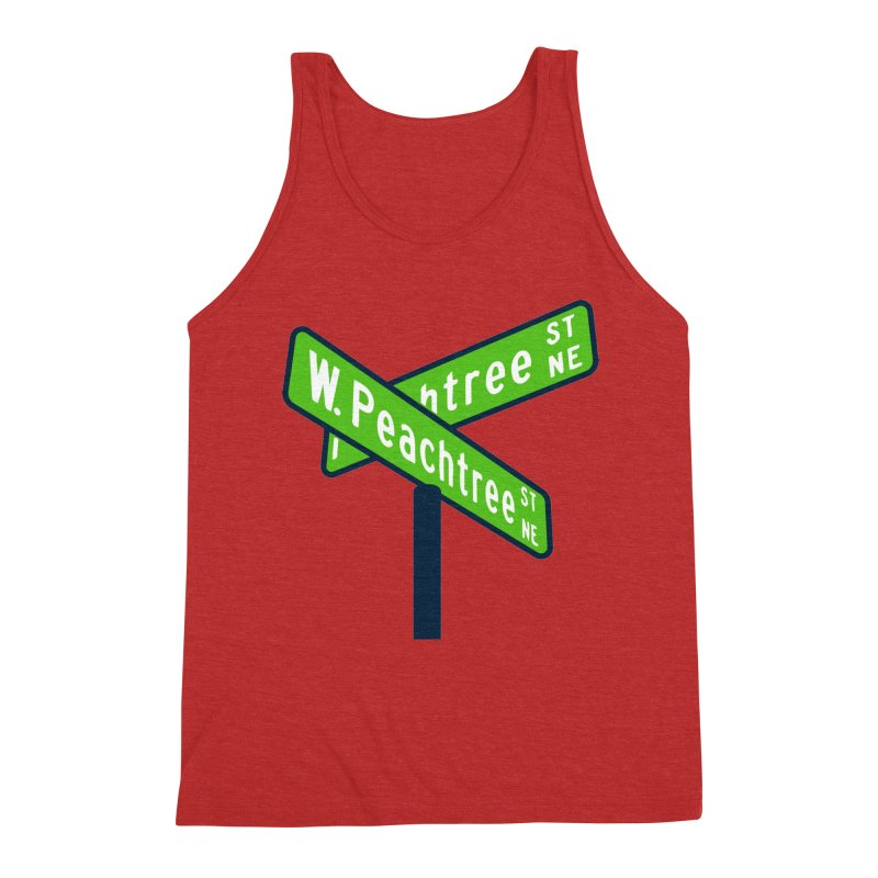 Peachtree Streets Men's Triblend Tank by