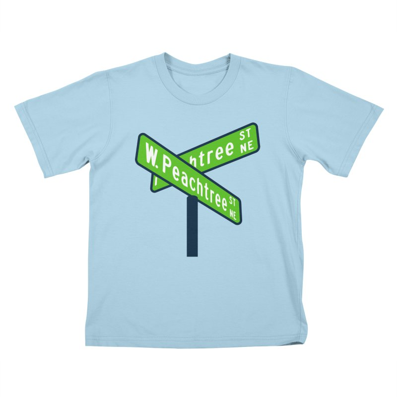 Peachtree Streets Kids T-Shirt by